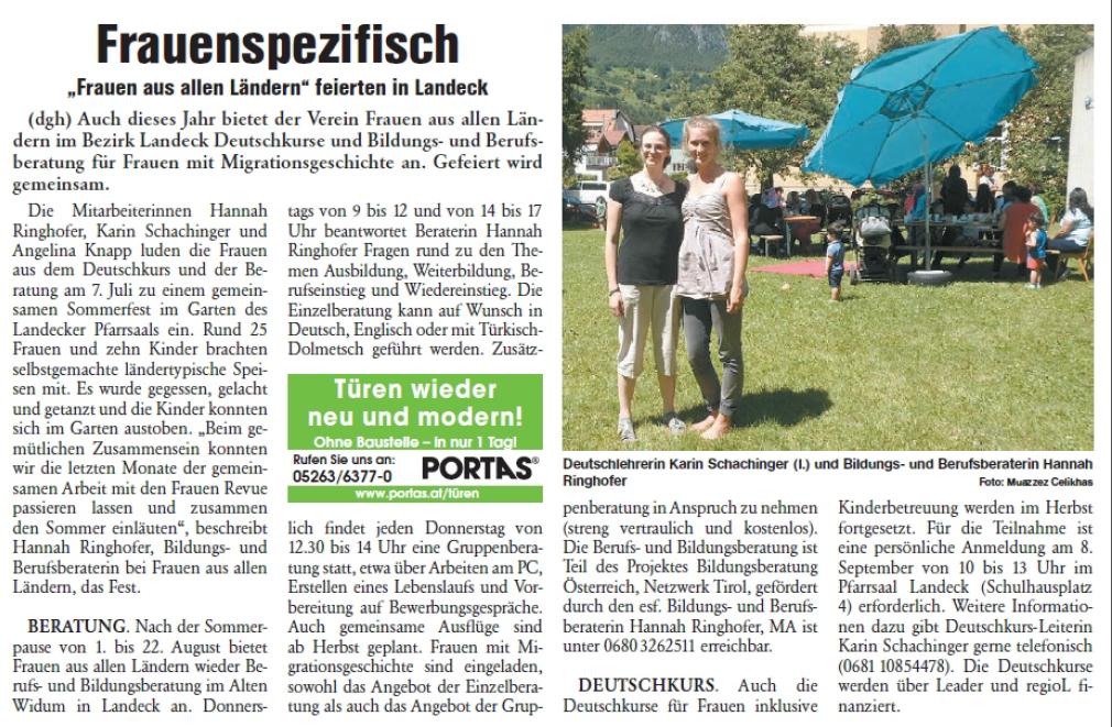 Rundschau - Oberländer Wochenzeitung