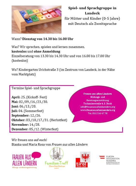 Spiel- und Sprachgruppe Landeck